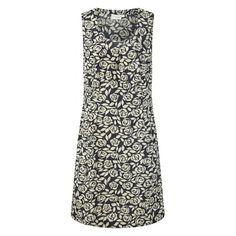 Adini Stencil Rose Faber Dress