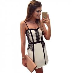 Cheap lace dress, Buy Quality summer dress directly from China mini dress Suppliers: V neck Lace Dress Women Bodycon Summer Dress Sleeveless Cocktail Short Mini Dress Robe Sexy Dress Robes, Lace Dress, Short Mini Dress, Korean Outfits, Women's Fashion Dresses, Love Fashion, Womens Fashion, Lace Shorts, Bodycon Dress