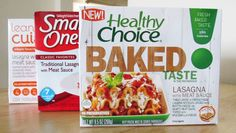 Taste Test: Diet Frozen Lasagna