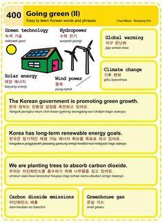 400 Going green II 2 Learn Korean Hangul