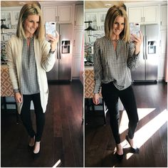 Top to work business casual outfits, business attire, casual work outfits, offi Casual Work Attire, Business Casual Outfits, Professional Outfits, Business Attire, Business Professional, Office Attire, Young Professional, Dress Casual, Work Attire Women