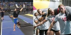 CrossFit Games Athelete Kari Pearce has 18 years of gymnastic experience under her belt. Try her 7 ways to improve your skills, strength and technique. Crossfit Games, Handstand, Gymnastics, Improve Yourself, Athlete, Basketball Court, Watch, Fitness, Tips