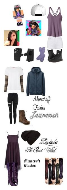 """""""Minecraft Diaries Characters!"""" by benjiedaisy on Polyvore featuring Patagonia, Ally Fashion, Dr. Martens, Barbour, women's clothing, women's fashion, women, female, woman and misses"""