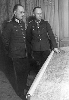 Marshals Gerd von Rundstedt & Erwin Rommel's headquarter. Canteleu, France