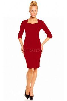 Accesorizeaza aceasta rochie cu gesturi gratioase si un zambet sincer si vei fi fermecatoare. Dresses For Work, Formal Dresses, Fashion, Dresses For Formal, Moda, Formal Gowns, Fashion Styles, Formal Dress, Gowns