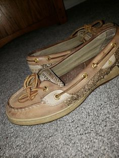 6a7a3df6d Sperry Top-Sider 7M Womens Rosy Tan Pre-owned shoes  fashion  clothing