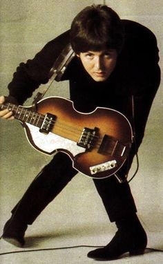 Paul McCartney (and the guitar of choice)