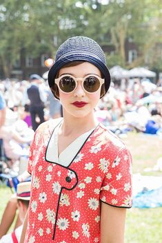 Even Daisy Buchanan Would Crush on These 1920s-Style Street Style Stars: There's something about the 1920s that enchants us as beauty editors.