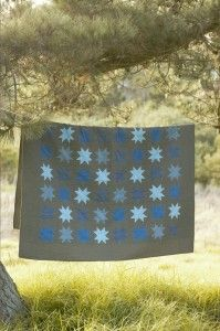sawtooth star quilt | ... different fabrics i always fall for housetop quilts and sawtooth stars