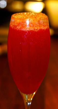 the perfect cocktail for a italian-themed spring dinner party...blood-orange bellinis...entertainingiseasy.com!
