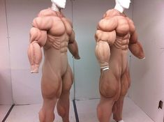 Mega Giant Muscle Suit by Flex Design Costumes Disfarces Halloween, Halloween Cosplay, Cool Costumes, Cosplay Costumes, Foam Carving, Foam Armor, Cosplay Diy, Fantasy Costumes, Halloween Disfraces