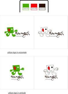 """logotipo """"cioccolato Magù"""""""
