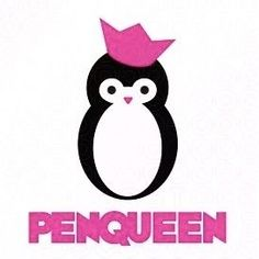 Queen for the day! Or Year. Penguin Day, Penguin Life, Make Your Own Logo, Cute Penguins, Logo Maker, My Spirit Animal, Cute Pictures, Cute Animals, My Favorite Things