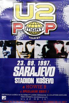 Resultado de imagem para u2 concert poster