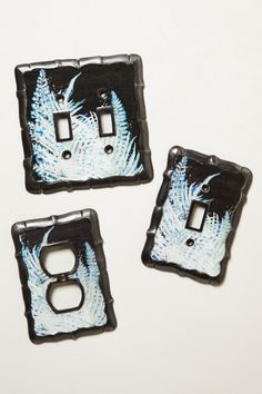 Forest Fern Switchplate - anthropologie.com