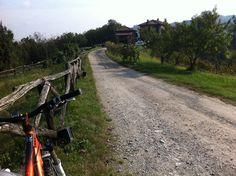 Itinerari in bicicletta: mountain bike a Montevecchia, parco del Curone