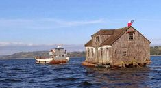 Washington, Cabin, House Styles, The Big Island, End Of The World, Shelters, St Michael, Islands, Landscape