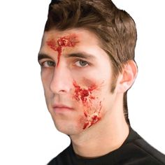 These Latex Prosthetic Moulage Wounds by Woochie will give you the professional moulage look for completing your Emergency Reenactment moulage collection or refilling your kits. The latex prosthetic moulage wounds are attached with spirit gum and easily removed with spirit gum remover. Each latex prosthetic is reusable over and over when removed properly with spirit gum remover.