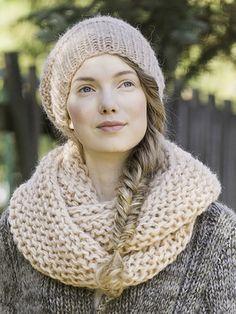 Neulottu tuubihuivi ja pipo Novita Lehto | Novita knits