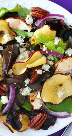 Favorite Apple Chicken Salad | gimmesomeoven.com
