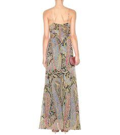 Printed Silk Dress - Etro | mytheresa