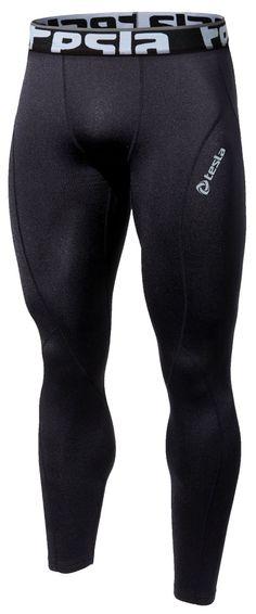Amazon.com : Tesla Men's Cool Dry Compression Baselayer Pants Legging Shorts…