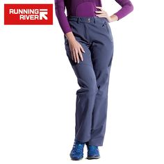 (39.87$)  Watch here - http://airdd.worlditems.win/all/product.php?id=32697767049 - RUNNING RIVER Brand Women Hiking Pants Size S - 3XL 2 Colors Warm Outdoor Camping Pants For Woman Winter Sports Clothing #P4452