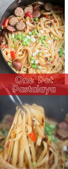 This easy one pot pa