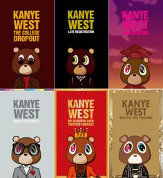 kanye west album covers - Google Search