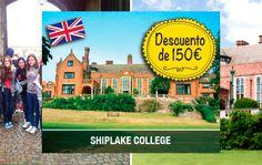 Curso de inglés en Shiplake Collegue con 150€ de descuento