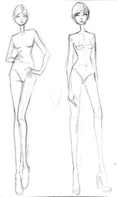 Free Fashion Croquis 05 by =Aiciel on deviantART
