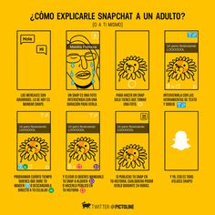 No entiendes Snapchat. Pero descuida, aquí te lo explicamos Snapchat, Social Media, App, Spanish, Tech, Marketing, Funny, Texts, Tools