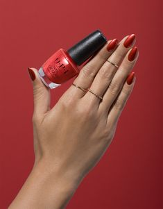 """A masterpiece in itself. """"Now Museum, Now You Don't"""" in original Nail Lacquer, part of the new OPI Lisbon collection."""