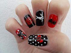 Rockabilly nails!