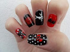 Rockabilly nails!