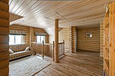 Деревянный дом с элементами ажурной резьбы   Дома из оцилиндрованного бревна   Журнал «Деревянные дома»