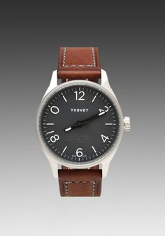 Tsovet SVT-RS40 in Black w/ Dark Brown Band