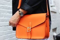 Palette Orange Cross-Body Bag