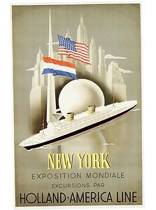 The 1939 World's Fair in New York - Holland America Line