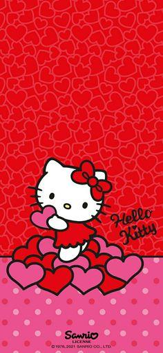 Walpaper Hello Kitty, Hello Kitty Iphone Wallpaper, Hello Kitty Backgrounds, Pretty Backgrounds, Iphone Wallpaper Photos, Friends Wallpaper, Cute Wallpapers, Wallpaper Backgrounds, Hello Kitty Pictures