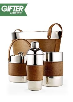 The perfect barware set for your backyard party hostess Gifts For Him, Great Gifts, Bedknobs And Broomsticks, Up Bar, Contemporary Home Decor, Bar Tools, Bar Set, Marshalls, Kitchen