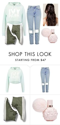 """""""Untitled #426"""" by dream-catcher-wolf-girl on Polyvore featuring Ivy Park, Topshop and Keds"""