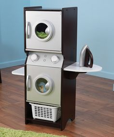 Take a look at this Espresso Laundry Play Set by KidKraft on #zulily today!