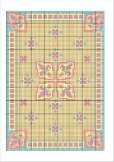 Points de croix *m@* dollhouse needlepoint chart
