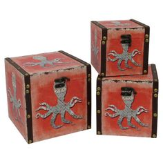 3-Piece Kraken Box Set at Joss and Main