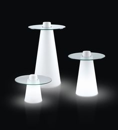 Peak Cocktail Table - Round Small