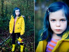 Coraline, cosplayed by Alice, photographed by KellyIsNice. This is so perfect.