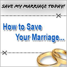 Got marriage problems? Want to stop divorce? Save My Marriage Today has taught thousands of couples how to save a marriage, offering comprehensive, professional save marriage advice. Sexless Marriage, Failing Marriage, Saving Your Marriage, Save My Marriage, Divorce, Unhappy Marriage, Broken Marriage, Marriage Advice Cards, Advice For Newlyweds