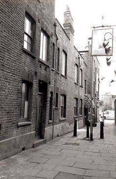 """Shoreditch High Street to the Old Nichol. This was the """"Jago"""" as portrayed in that wonderful story of the 1890's by Arthur Morrison - """"A Child of the Jago"""""""