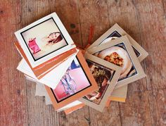 Love Notes Photo Book - A Beautiful Mess, pictures with notes on the other side of it. Be My Valentine, Valentine Day Gifts, Photo Projects, Craft Projects, Craft Gifts, Diy Gifts, Diy And Crafts, Paper Crafts, Beautiful Mess